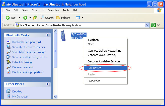 Setting Up Bluetooth for PdaNet If you are using a lower